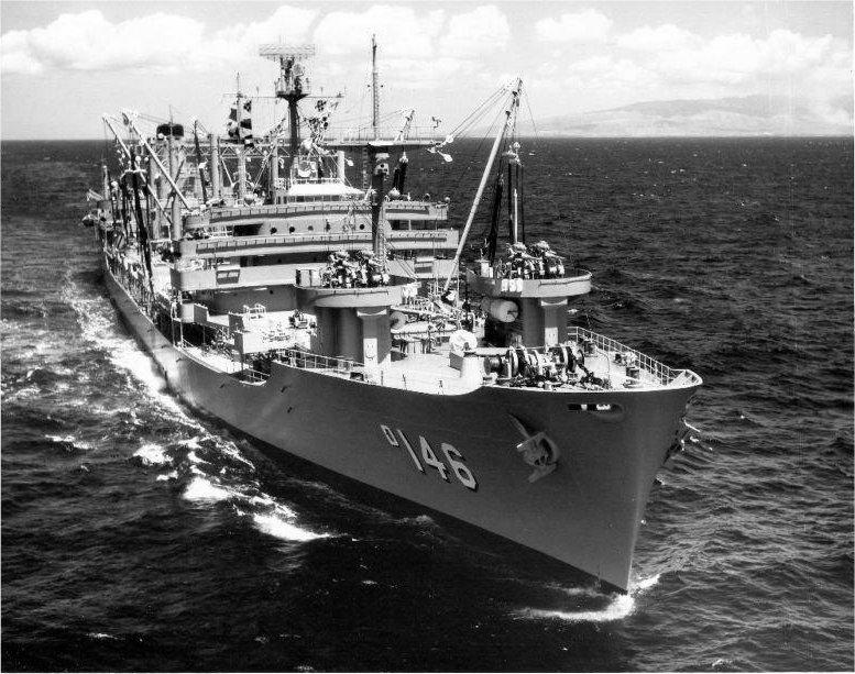 Remembering US Navy Fleet Oiler Kawishiwi (AO-146